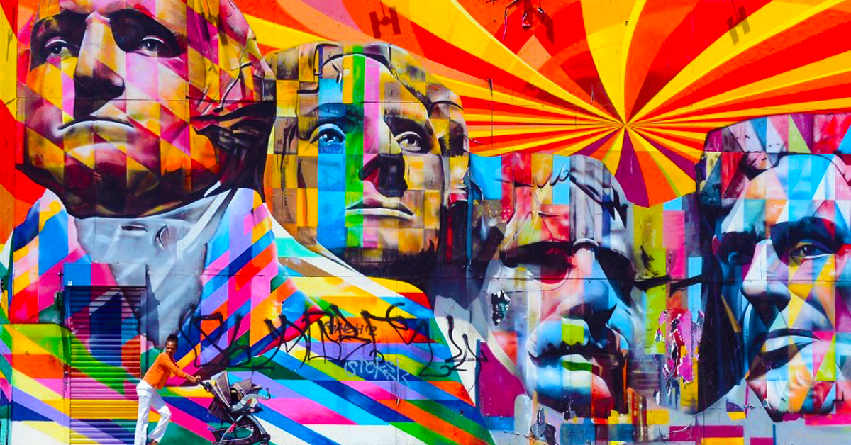 20 Of The Sickest Pieces Of Street Art From 20 Different Cities