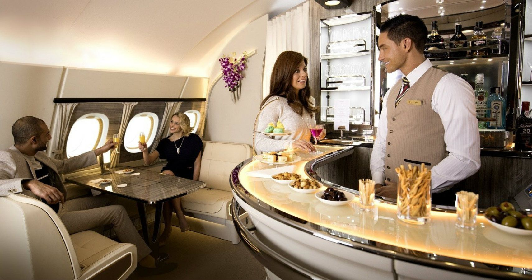 10 Things Only People Who Fly First Class Know | TheTravel