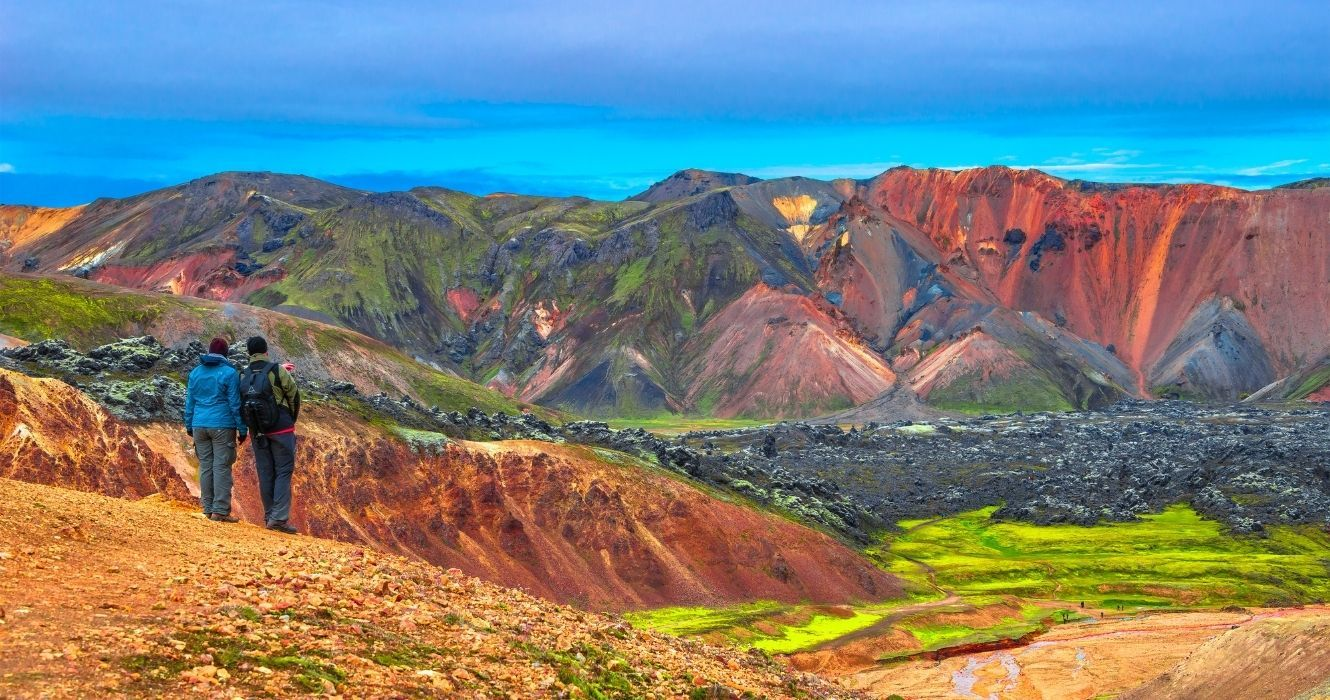 This Is What It's Like To Hike Iceland's Volcanic Deserts, Known As The Highlands