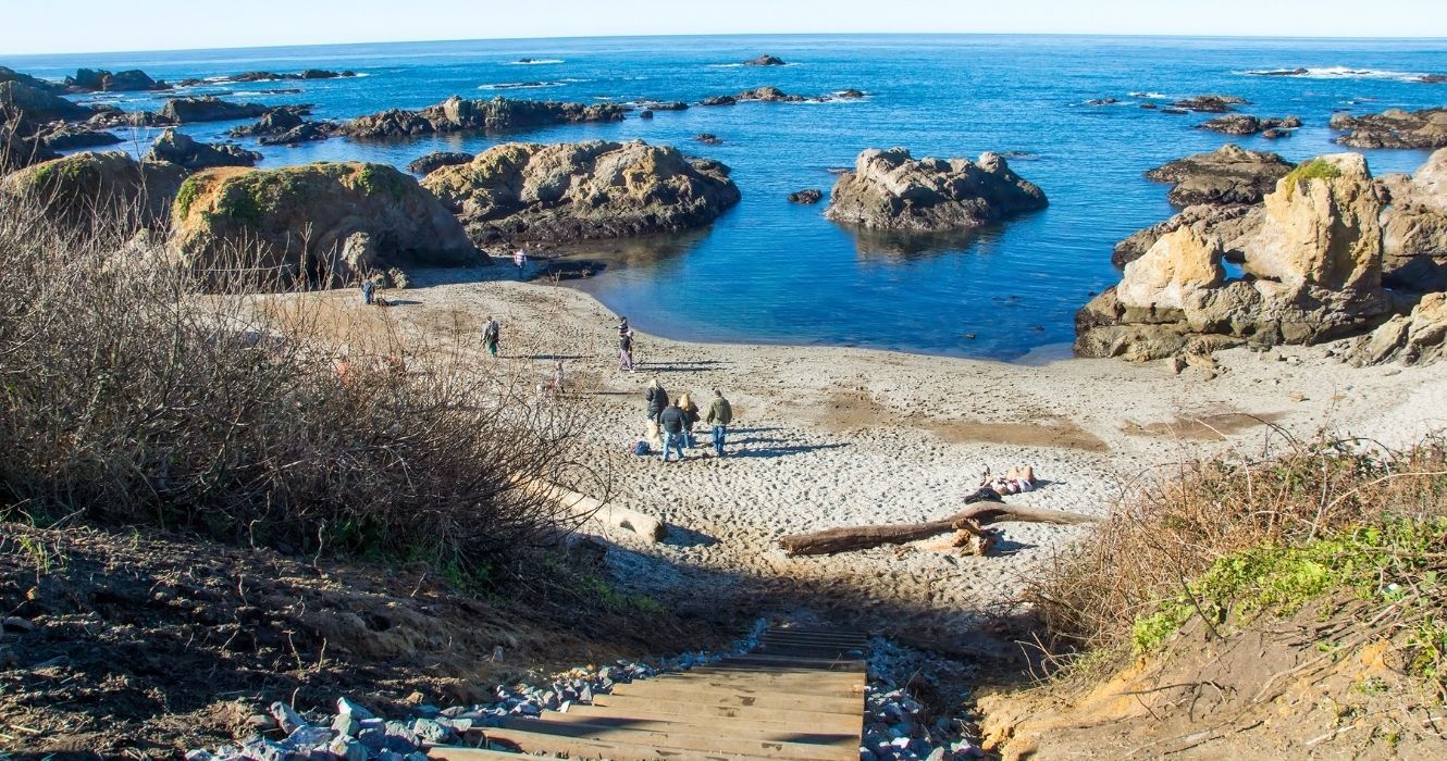You Can't Take Glass From Glass Beach, And Other Things To Know About This California Coast