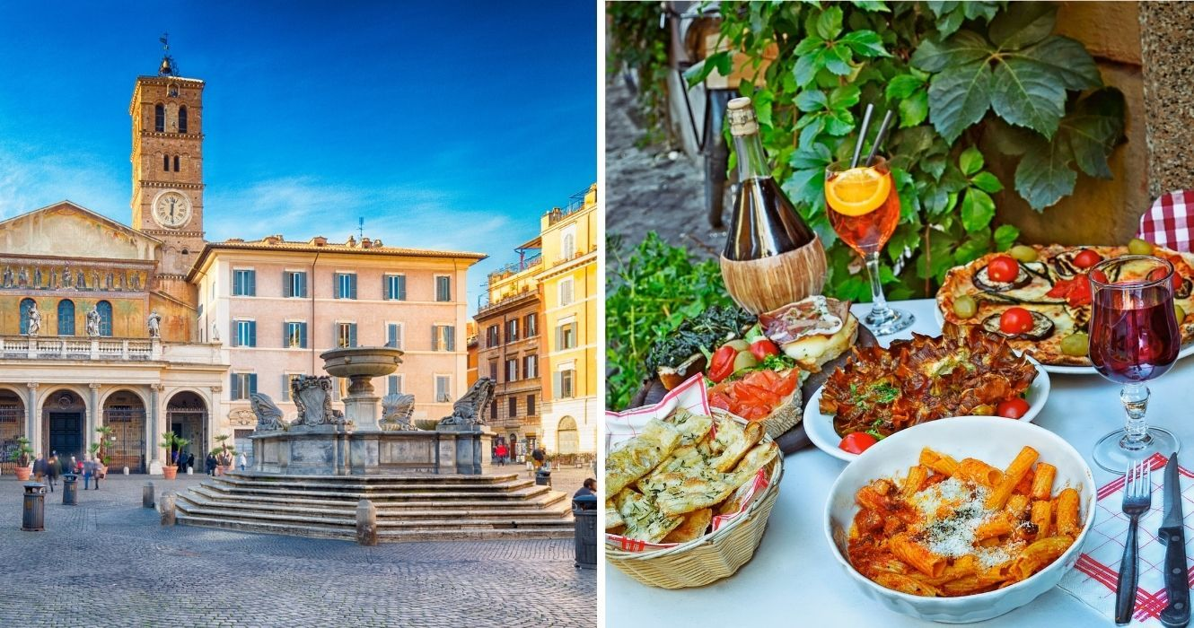 This Is The Most Scenic Neighborhood In Rome (And What To While Visiting)